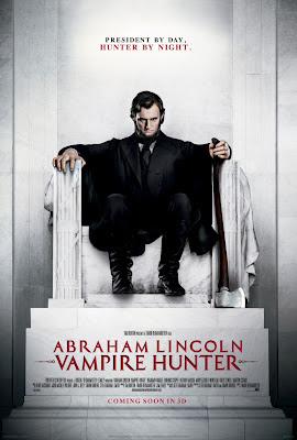 Abraham Lincoln Vampire Hunter 2012 film movie poster