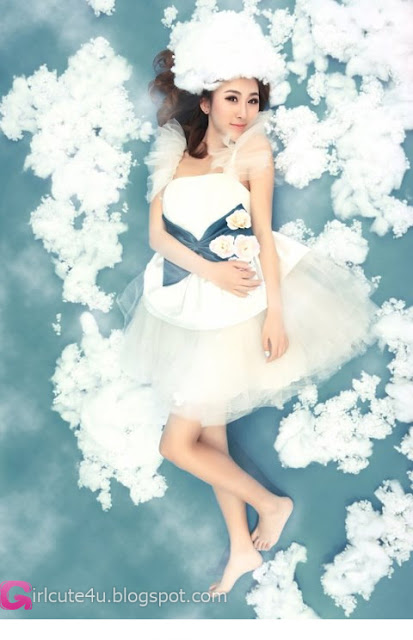5 Fan Xuyue - Walk through the clouds-very cute asian girl-girlcute4u.blogspot.com