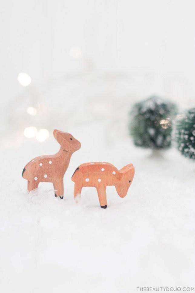 #Navidadbonitista DIY: Terrario de cristal colgante