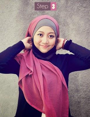 jilbab segi empat 3
