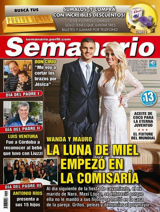Pasando revista luna de miel en la comisar a el for Revistas del espectaculo
