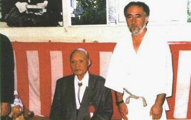 Humberto Heyden Sensei y Maestro Genshin Hironishi