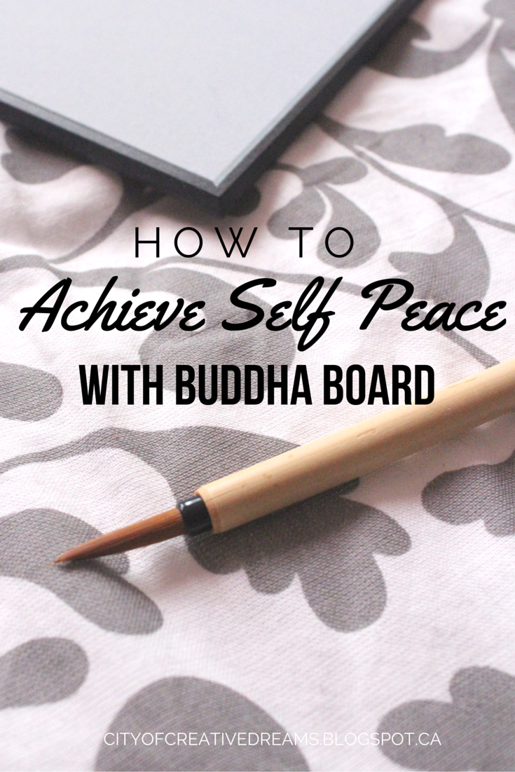 how to achieve self peace with buddha board