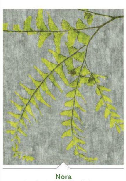 Rug Design 2013 Leafy Pattern Nora
