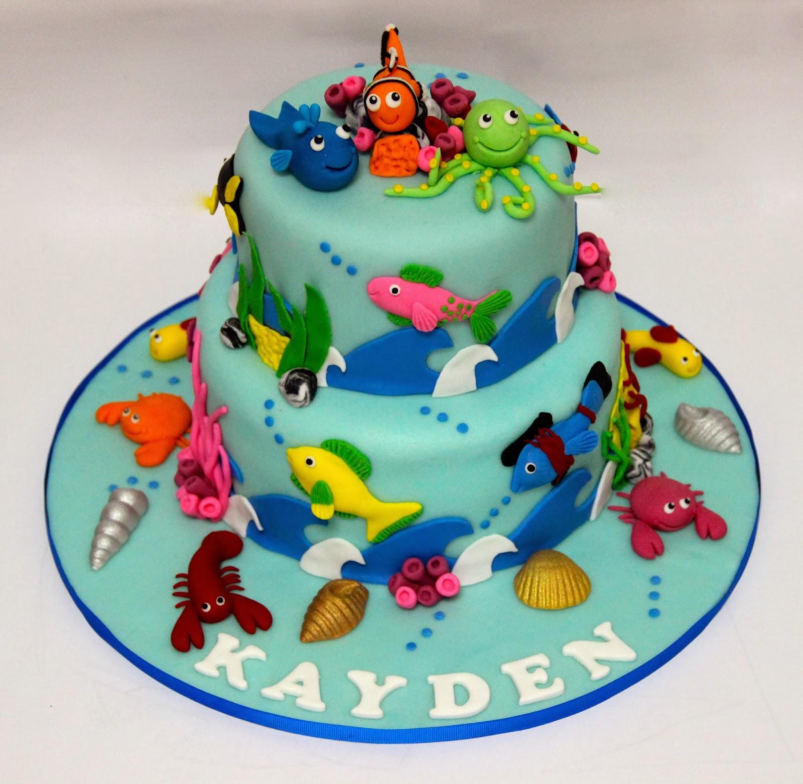 Temptations Beach Theme Cake