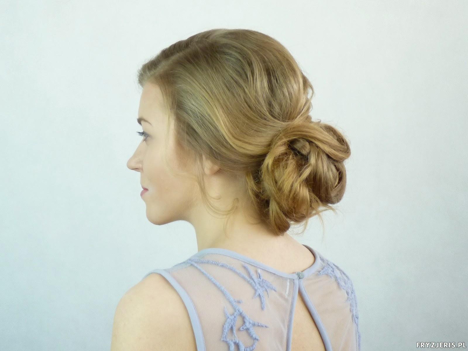 fryzura ślubna szkolenia
