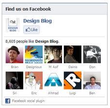 facebook fan box  blogger