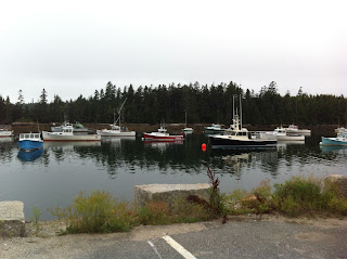 lobster boats Winter Harbor