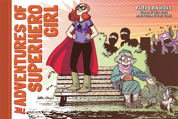 The Adventures of Superhero Girl cover image