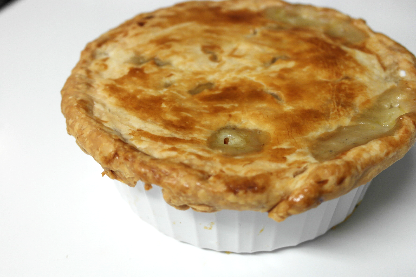 Ann with a plan: Vegetable Pot Pie for 2