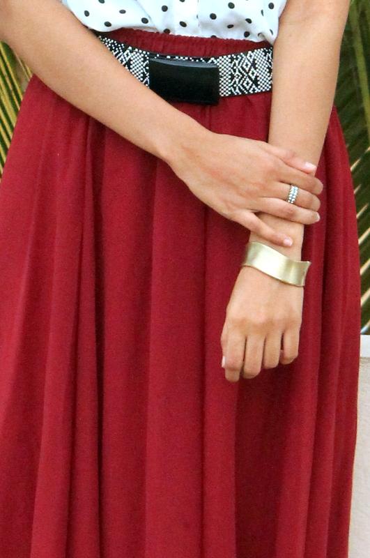 maroon maxi skirt, oasap maxi skirt, indian fashion blog, best indian fashion blog, hyderabad fashion blog, how to wear maxi skirts, how to dress for monsoon