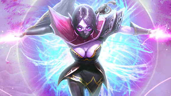 lanaya the templar assassin girl dota 2 hero game