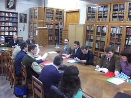 Aspect din timpul desfăşurării simpozionului internaţional Noi şi Ceilalţi, 6.IV.2011...