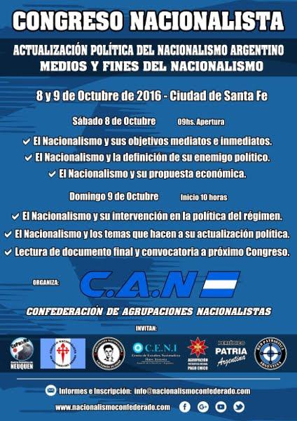 CONGRESO NACIONALISTA EN SANTA FE