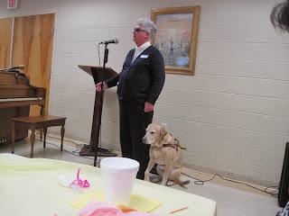 Audrey speaks at Fort Johnson Baptist Church