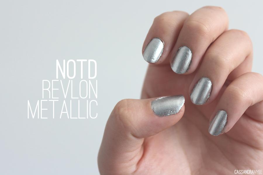 NOTD // Revlon Top Speed Nail Enamel in Metallic - CassandraMyee ...