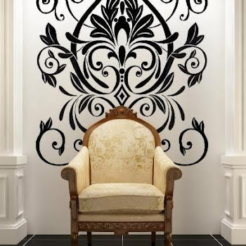 New Trend Alert !! Deco Spring 2012! Giant Flock Stickers by Designer Frank Fuzzy!