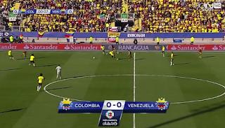 نتيجة و اهداف مباراة كولومبيا و فنزويلا 0-1|| كوبا أمريكا