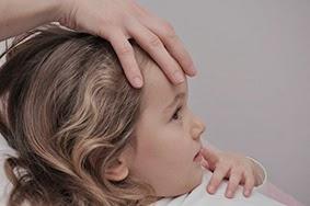 Cranio Anwendung bei Kindern