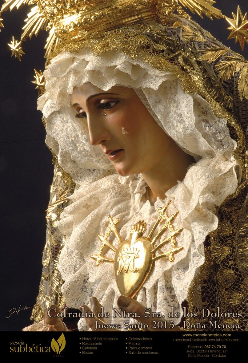 Semana santa de do a menc a cartel de la cofrad a de la - Fotos de dona mencia ...