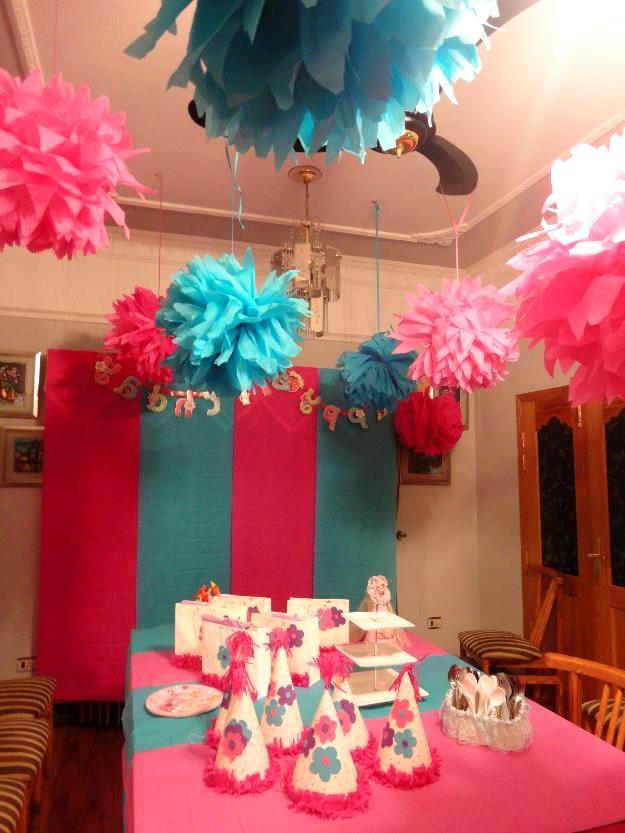 Фото украшения для комнаты на день рождения своими руками