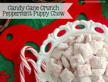 Candy Cane Crunch Puppy Chow