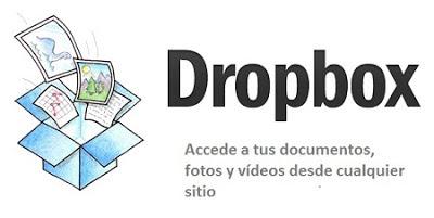 Dropbox almacenamiento