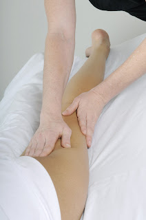 Massage of posterior leg