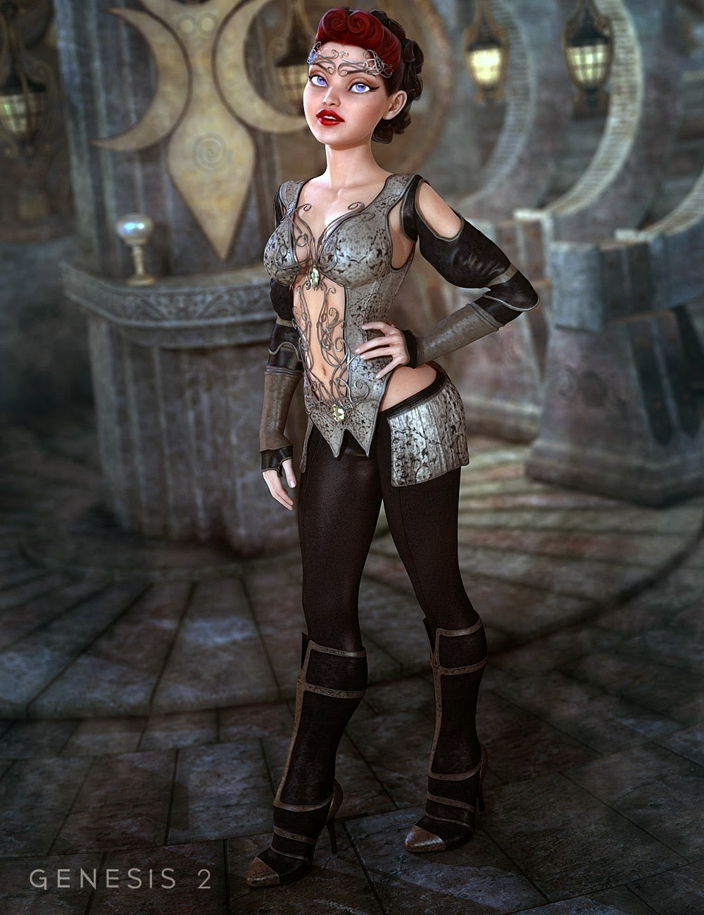 DAZ STUDIO - Felicity for Genesis 2 Female