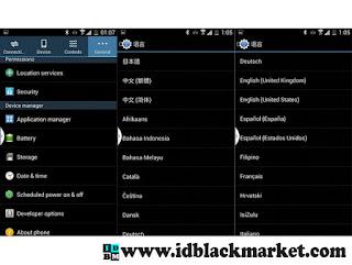 Bahasa Samsung Note 4 Replika HDC