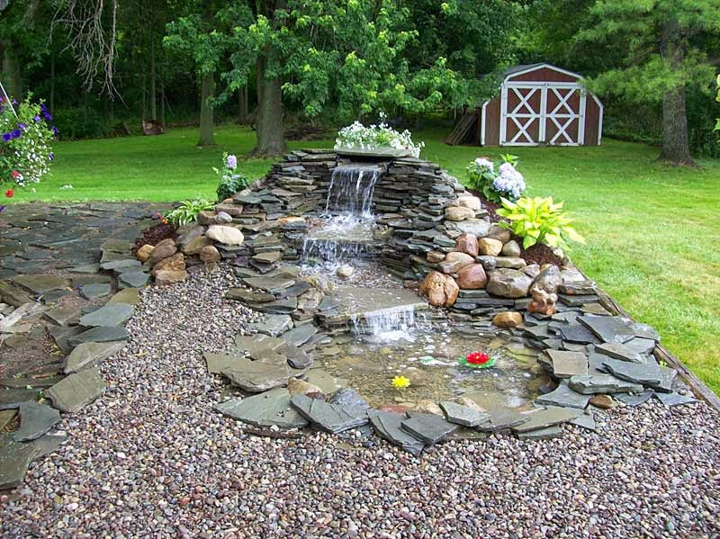Back yard home pondless waterfall ideas backyard your home for Diy ponds and waterfalls