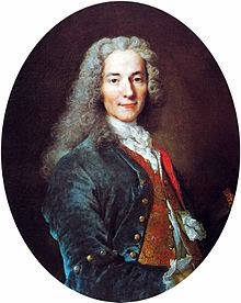 VOLTAIRE         -  (1694-1778)     -   WRITER - PHILOSOPHER