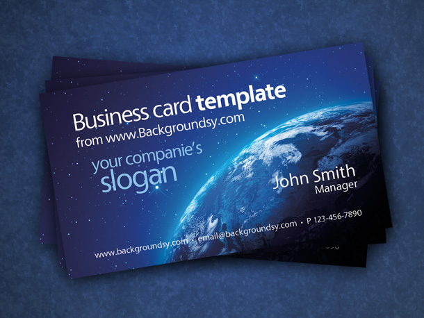 41) Business Card