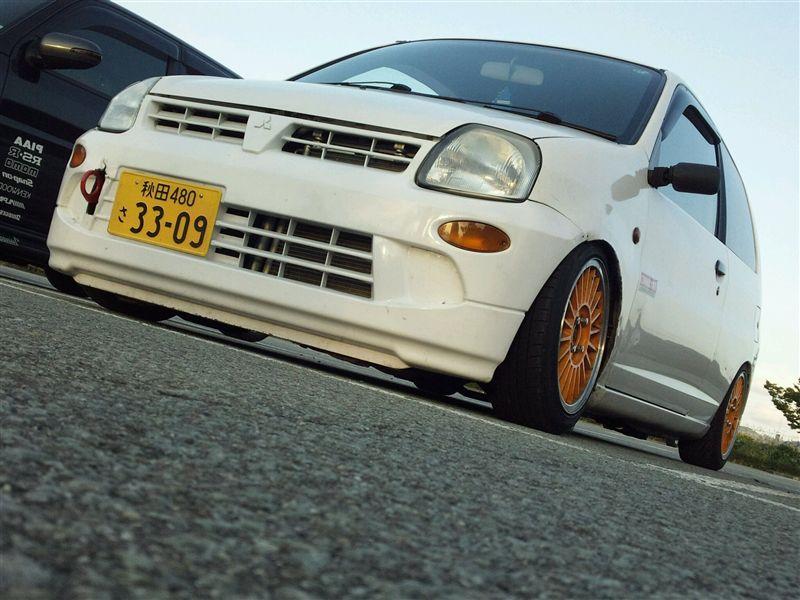 Mitsubishi Minica, kei car, mały samochód, japońskie, niewielki silnik, zdjęcia
