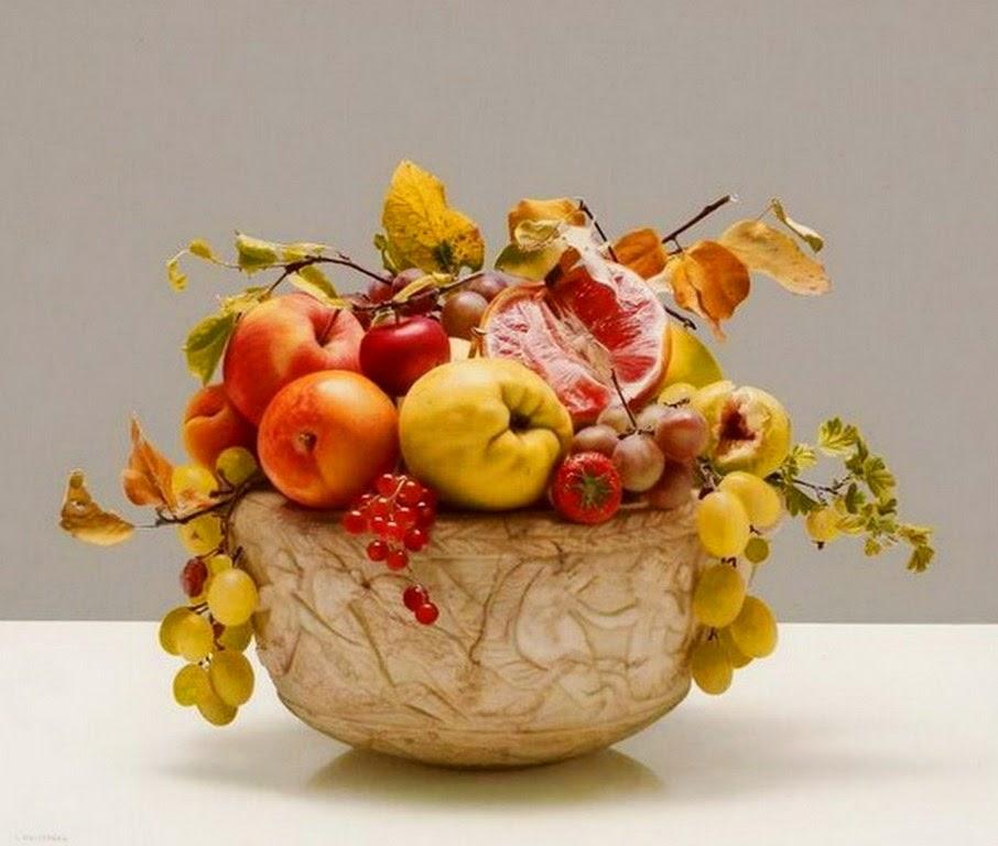 im genes arte pinturas bodegones con fruteros en pinturas On fruteros decorativos
