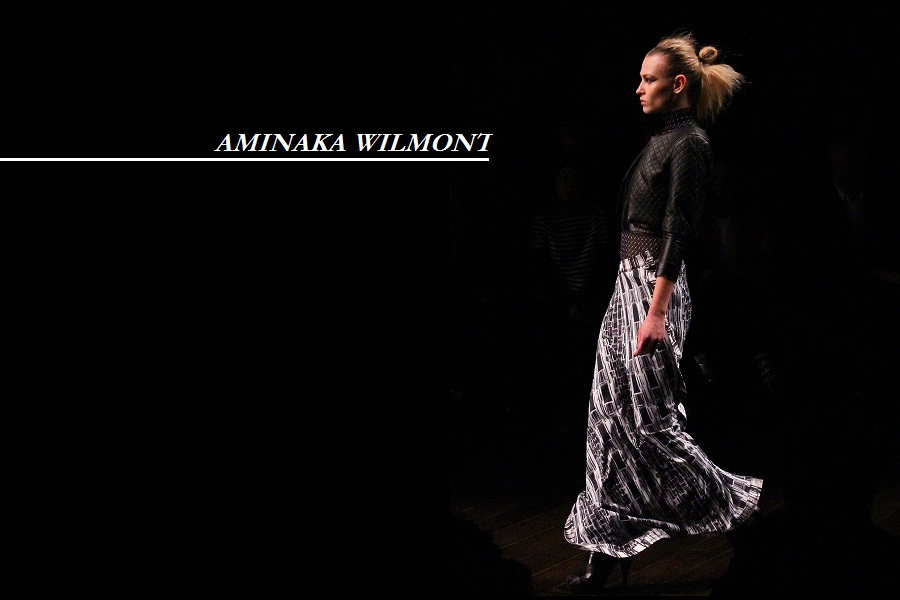 Aminaka Wilmont aw13 london fashion week