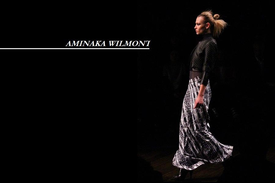Aminaka Wilmont aw13 london fashion week