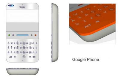 Original Google Phone apresentado em 2006