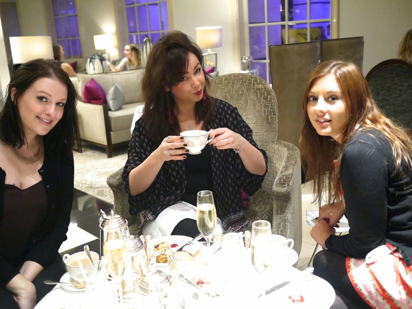 Portobello and Champagne Afternoon Tea