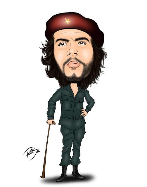 Che Guevara  foi um dos ideólogos e comandantes que lideraram a Revolução Cubana