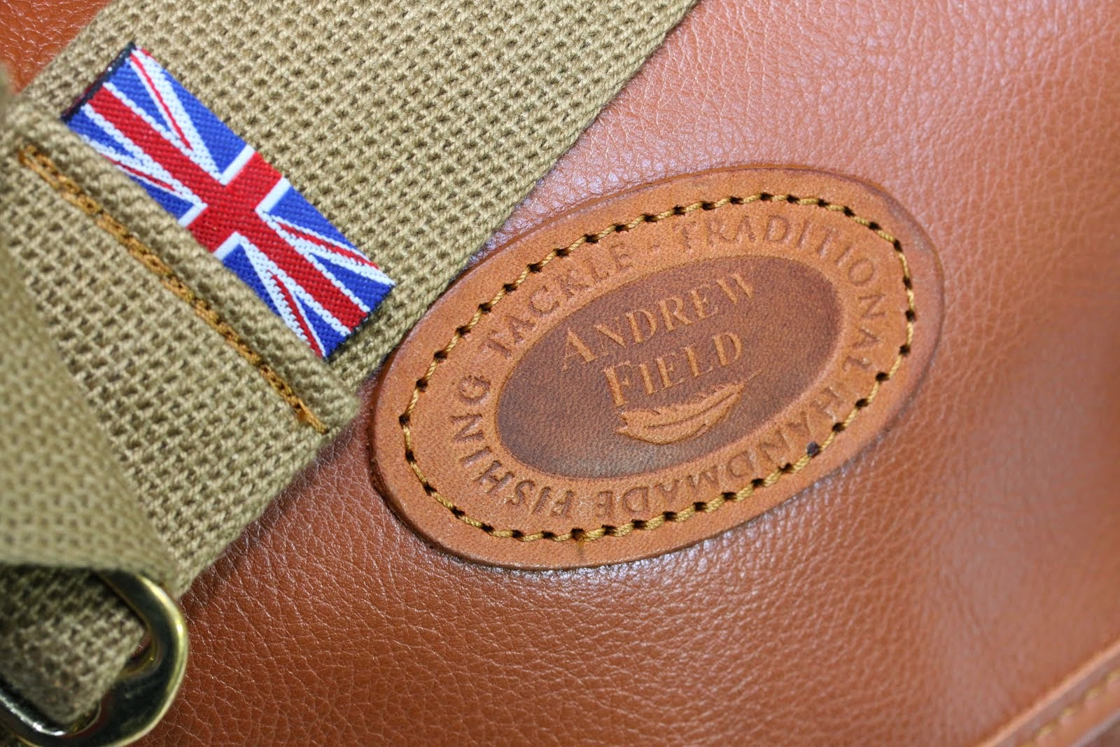 British Hand Stitched Fishing Bags