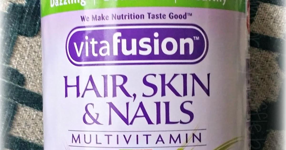 Vitafusion Hair Skin And Nails Vs Nature S Bounty
