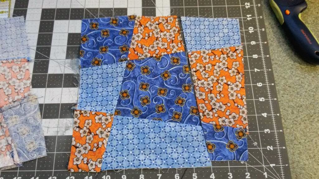 Twobluecrows Crazy Fun 9 Patch Quilt Blocks Text Image