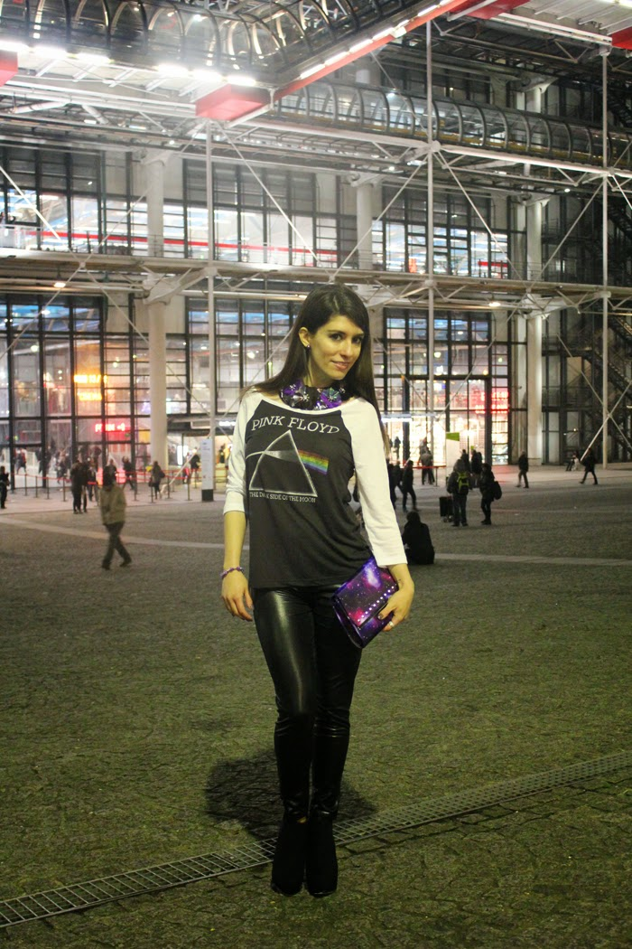 fashion, fashion blog, fashion blogger, Paris, streetstyle, centre Pompidou, futuristic look, universe