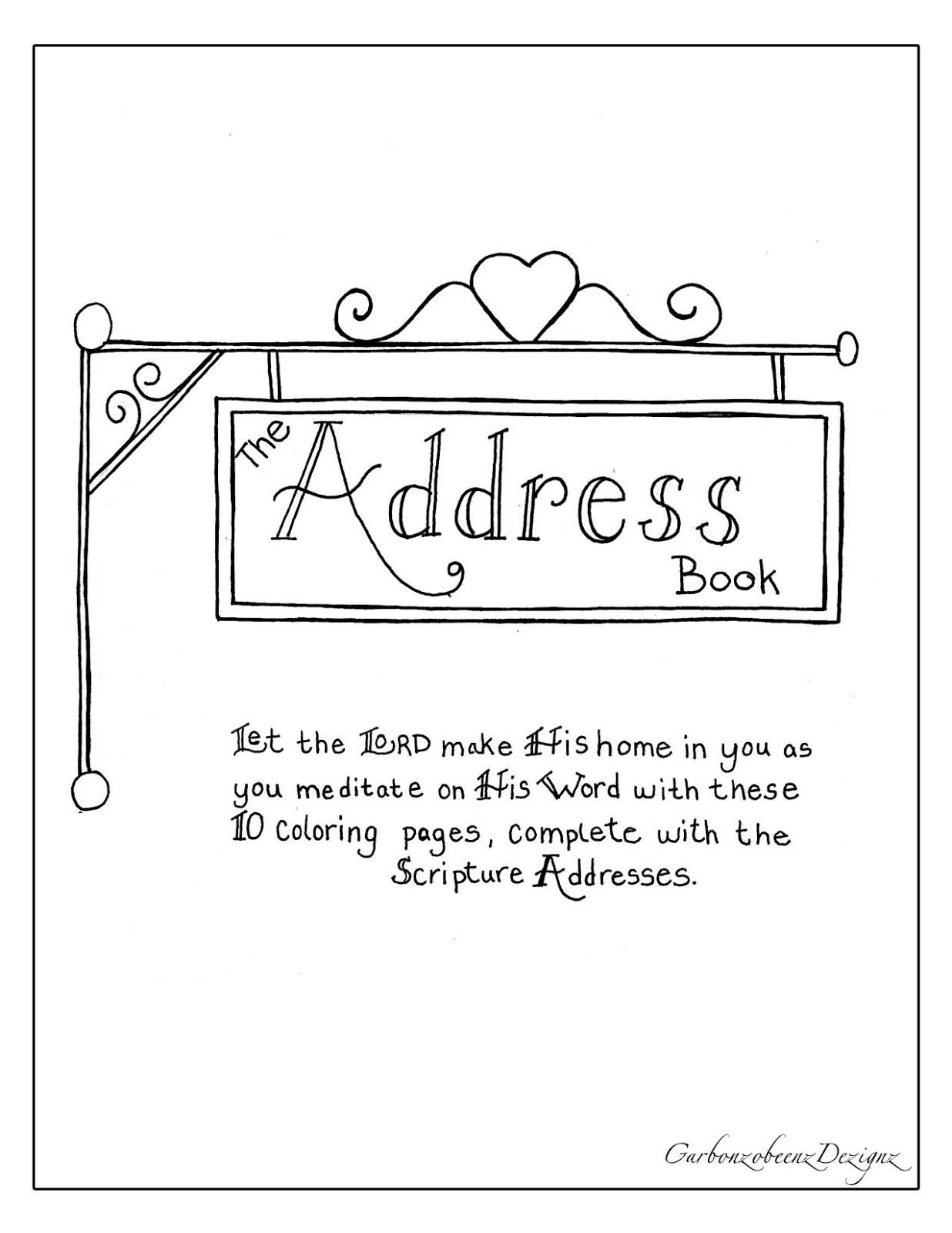 spillin the beenz the address book