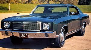 Black 1970 Monte Carlo