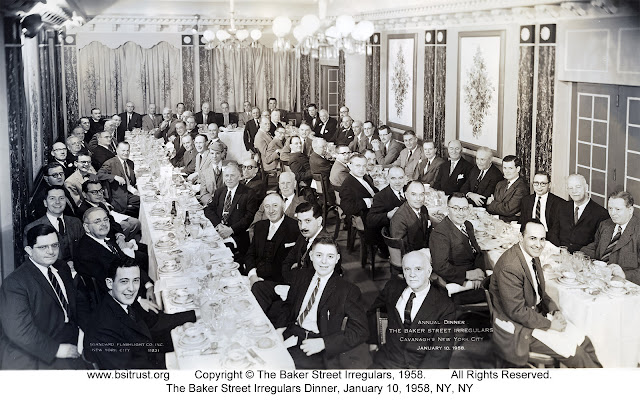 The 1958 BSI Dinner group photo
