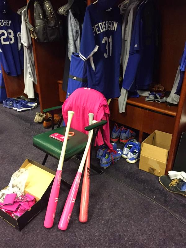 Dodgers Blue Heaven  Bid Now on Some Dodgers  Mother s Day Game-Used ... 9655e6f0076