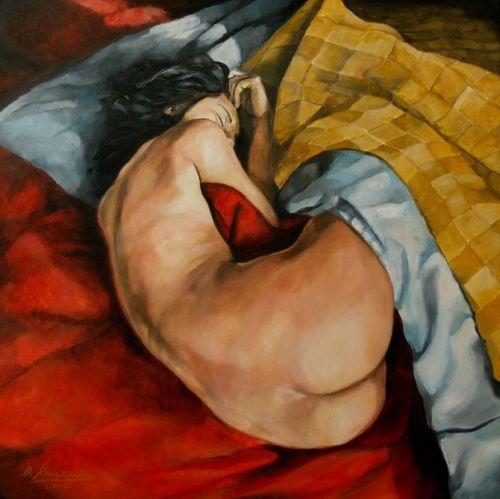 Damian Klaczkiewicz pinturas mulheres nsfw