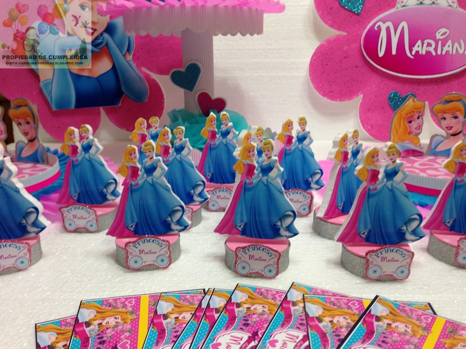 Decoraciones infantiles princesas - Decoracion cumpleanos princesas ...